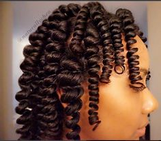 The Perfect Curl IG:@naturallychea! #naturalhairmag