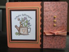 Nice and Easy Birthday by serkini - Cards and Paper Crafts at Splitcoaststampers