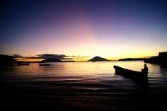 Sunrise Gulf of Fonseca, El Salvador. Amanecer en el Golfo de Fonseca, El Salvador.