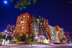 The Ray and Maria Stata Center at MIT, designed by Frank Gehry.