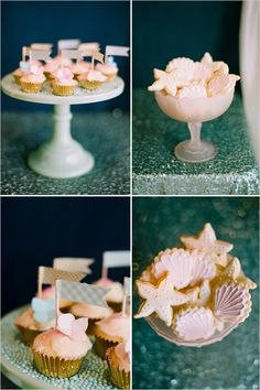 dessert table ideas for one less lovely fish in the sea ..