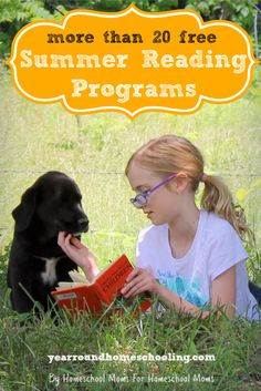 Your kids will have fun reading this summer with these Free Summer Reading Programs!
