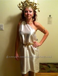 Sexy Versace Style Medusa Costume... Coolest Halloween Costume Contest