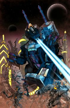 Trypticon – Cover for City of Fear 3 by ~glovestudios on deviantART