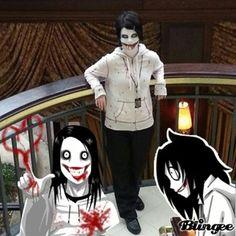 creepypasta jeff the killer cosplay