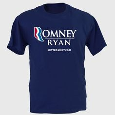 Official Romney Ryan Unisex Tee