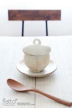 古谷浩一のたて鉄線 蒸し碗でテーブルコーディネート