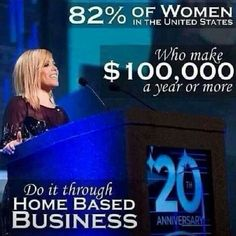 Women looking to make 100k+ through a home based business. Women in general  are great at sharing ideas, dreams and plans.  www.jamesavina.com
