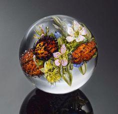 Glass Paperweights by Paul Joseph Stankard