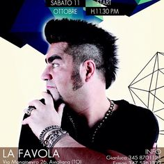#PaoloNoise Paolo Noise: #sabato 11 #ottobre #Favola #Torino #tantacassa #deejayshow #live #spacchiamotutto