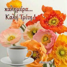 Good Night, Good Morning, Greek Quotes, Fruit, Nighty Night, Buen Dia, Bonjour, Bom Dia, Good Night Wishes