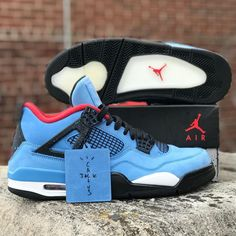Jordan Cactus Jack 4s. Size 10.5. $300. DM to purchase Boys Shoes, Me Too Shoes, Best Sneakers, Sneakers Nike, Nike Vest, Hype Shoes, Air Jordan Shoes, Cactus Jack, Retro