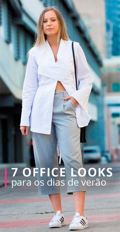 Estilo, office look e calor podem conviver muito bem na mesma frase, quer saber como?