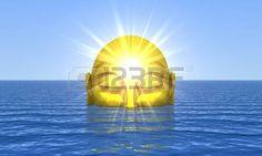 esoteric: Будда - Golden Water Пробуждение Фото со стока