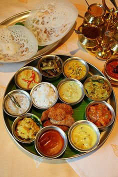 Traditional Indian Food | Traditional South Indian Sattvik Meal Fit For A King – From The ...