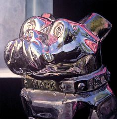 LJ Lindhurst: paintings | Mack Truck Dog