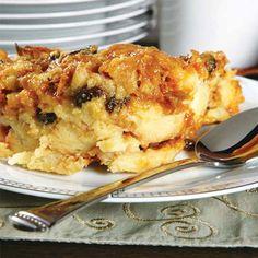 And for Dessert.. Apple Raisin Bread Pudding