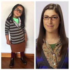 Learns Important Lessons by Dressing Up as Great Women of the World Big Bang Theory, Amy Farrah Fowler, Mayim Bialik, Great Women, 4 Year Olds, Female Images, Dress Up, Daughter, Wonder Woman