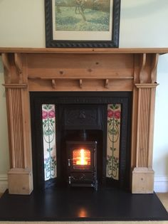 HETAS registered installer of wood burning and multi-fuel stoves, fireplace surrounds in the Stockport, Heaton Moor, Heaton Norris, Heaton Chapel and Manchester area Hobbit Wood Stove, Wood Stove Hearth, Log Burner Fireplace, Fireplace Inserts, Wood Burner, Edwardian Fireplace, Edwardian House, Plywood Furniture, Modern Furniture