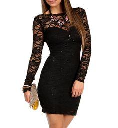 Mack- Black Homecoming Dress
