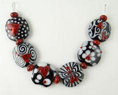 Corinabeads -Lampwork beads by Corina Tettinger  Valentino