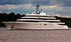 OVERVIEW: Superyacht ECLIPSE Owned by Roman Abramovich is the Largest Private Luxury Yacht in the world