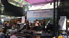 Marion Meadows currently onstage with Chieli Minucci & Special EFX, Festival of the Arts, Laguna Beach, CA, 8/8/2015