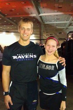 kenn w a Baltimore Ravens Cheer Leader