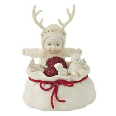 Snowbabies Classics Santa's Little Helper Figurine, 4.75-Inch -- Want additional info? Click on the image.