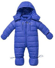 Baby Rompers Newborn Boy Girl Thermal Duck Down Jacket Winter Coverall Snowsuit Coat Cute Hooded Jumpsuit Infant Clothes Baby Winter Suit, Baby Girl Winter, Newborn Outfits, Baby Boy Outfits, Kids Outfits, Baby Snowsuit, Baby In Snow, Snow Outfit, Snow Dress