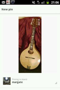 My mandolin my partner made for me