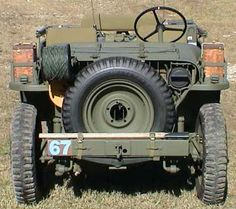 WWII Airborne Jeep because air flow through a radiator is ridiculous. This spare tire is much more effective!