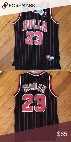 03e972cab91 Michael Jordan Chicago Bulls Black Jersey Men's small black Michael Jordan  Chicago Bulls #23 Jersey