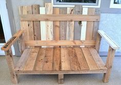 repurposed furniture before and after   Pallet Furniture - Repurposed Ideas For Pallets   RemoveandReplace.com