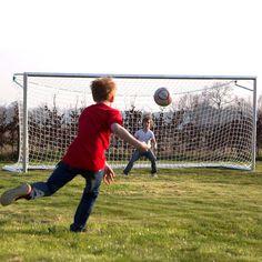 Avyna Aluminium Voetbaldoel 200 x 500 cm Aluminium, Soccer, Training, Outdoor, Sports, Goals, Play, Products, Mesh
