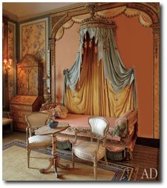 italian home furniture. Set/Location Inspiration - Stunning Italian Home Featured In Architectural Digest, Painted Furniture