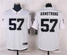 nike oakland raiders 57 ray ray armstrong white elite jersey