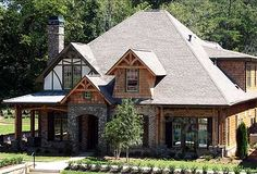 Eye-Catching Cottage - 15693GE | Cottage, Craftsman, Luxury, Photo Gallery, Premium Collection, 1st Floor Master Suite, Butler Walk-in Pantry, CAD Available, PDF, Split Bedrooms | Architectural Designs