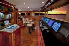 Nordhavn 120-Pilot House-Custom Yacht Interior Design-Destry Darr Designs