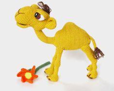 Quasimodo the Camel - Amigurumi Pattern (Crochet)