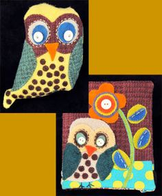 Another Sue Spargo owl.