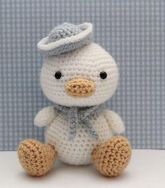 Lil Quack crochet pattern by Little Muggles, Ravelry.