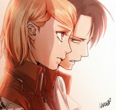 Petra & Levi | I don't ship this hardcore but it's nice