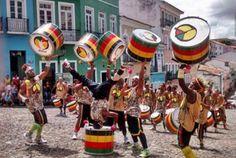 Olodum of Salvador Bahia
