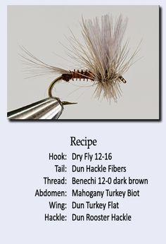 Recipe for Biot Mahogany dun – Outdoor Sport Fly Fishing Lures, Trout Fishing Tips, Sea Fishing, Fishing Tricks, Women Fishing, Walleye Fishing, Fishing Rods, Carp Fishing, Fishing Tackle