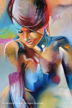 Abstrakte Nude Art • abstrakte Figur • moderne Kunstfigur Gemälde Reproduktion • Abbildung Studie #5 • zeitgenössische Nude Fine Art Prints