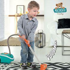 Upratovací vozík pre deti #Smoby Vacuum Cleaner je moderná sada hračiek na upratovanie, ktorá poteší chlapcov aj dievčatá od 3 rokov. Vacuums, Home Appliances, House Appliances, Appliances, Vacuum Cleaners