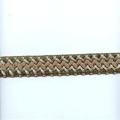 CA200 Color 387 Mist Braided Ribbon Tape Trim