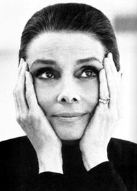 "Audrey Hepburn ""The beauty of a woman must be seen from in her eyes, because that is the doorway to her heart, the place where love resides."""