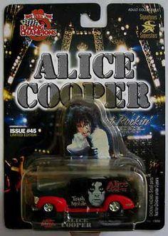 Alice Cooper Trash Mobile - Racing Champions Hot Rockin' Die Cast